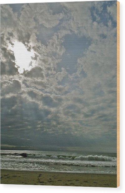 Stormy Afternoon Wood Print by Liz Vernand