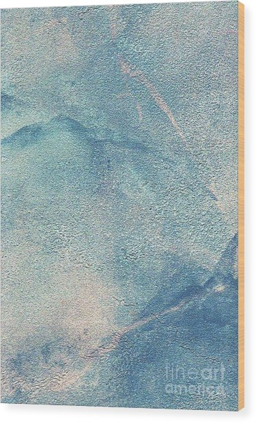 Wood Print featuring the mixed media Stormy by Writermore Arts