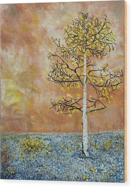 Storytree Wood Print