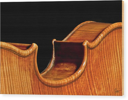 Stradivarius Back Corner Wood Print