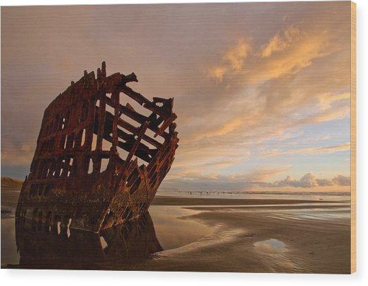Stranded Wood Print