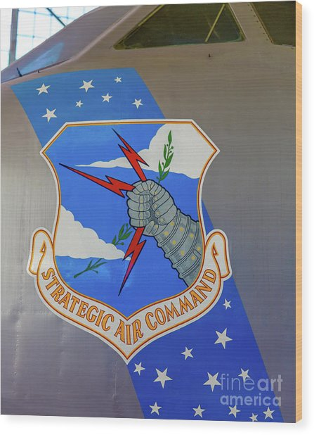 Strategic Air Command Wood Print
