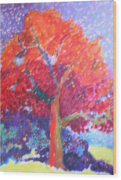 Strawberry Tree Wood Print by Charles Kelly