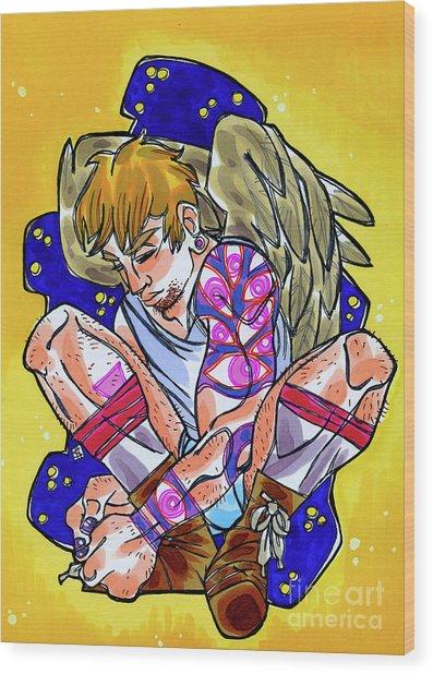 Street Angel II Wood Print