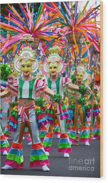 Street Dance 3 Wood Print