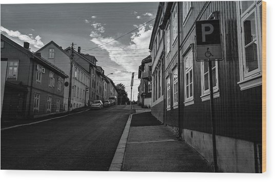 Street In Toyen Wood Print
