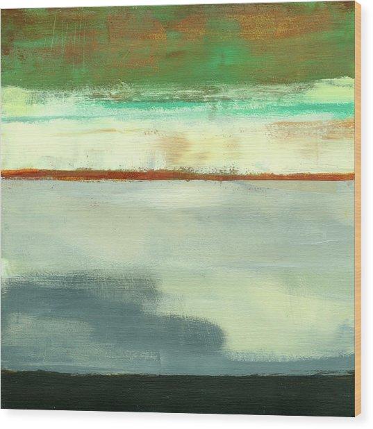Stripe Landscape 1 Wood Print