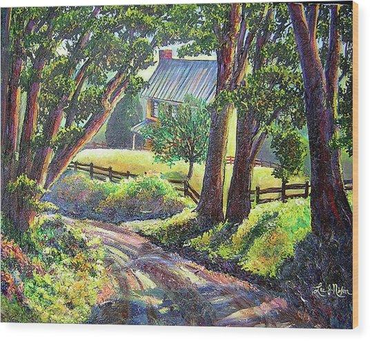 Strolling Down Old Rapidan Road Series Wood Print