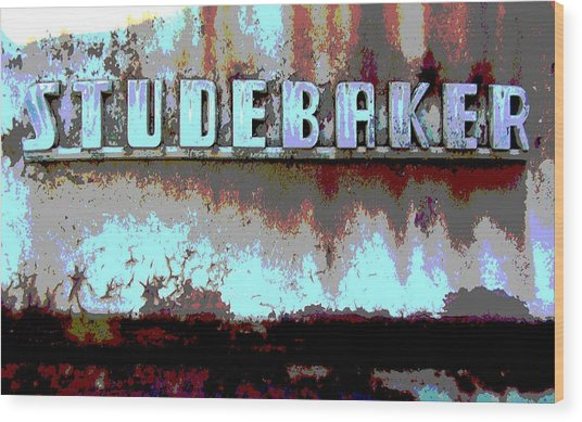 Studebaker  Wood Print by Audrey Venute