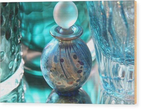 Studies In Glass...murano Wood Print