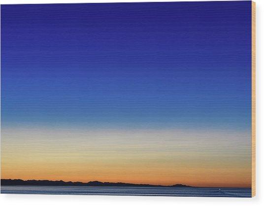 Stunning Sunset I Wood Print