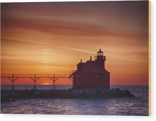 Sturgeon Bay 2 Wood Print