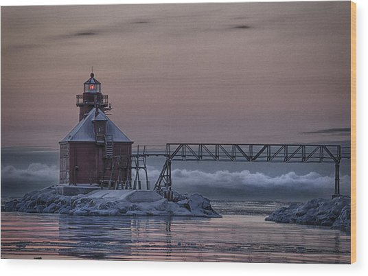 Sturgeon Bay 3 Wood Print