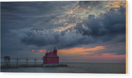 Sturgeon Bay 4 Wood Print
