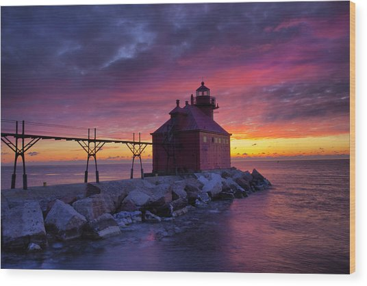 Sturgeon Bay 5 Wood Print