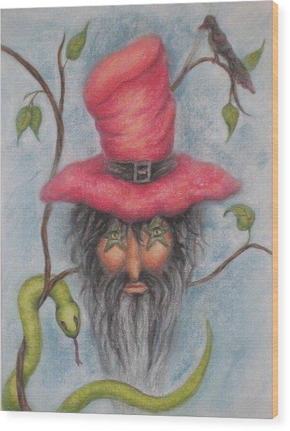 Stymie The Dwarf Wood Print