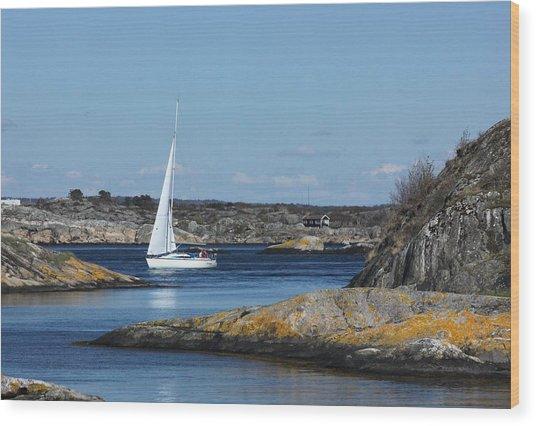 Styrso, Sweden Wood Print
