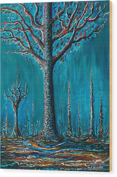 Sugar Tree Wood Print