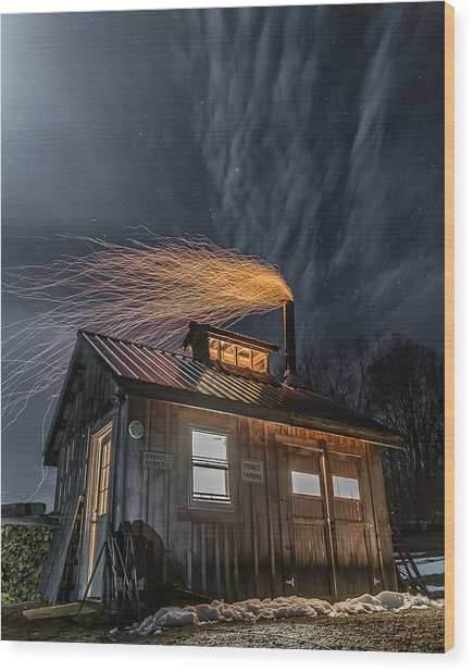 Sugarhouse 2017 Wood Print