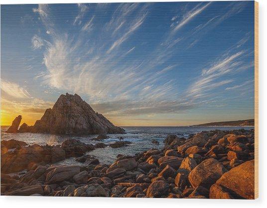Sugarloaf Rock  Wood Print