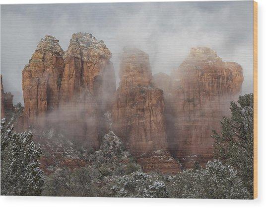 Sugarloaf Trail  Wood Print
