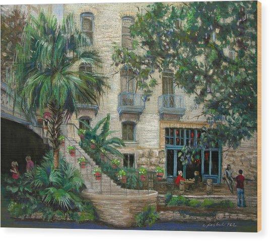 Sultry San Antonio Wood Print by Carole Haslock
