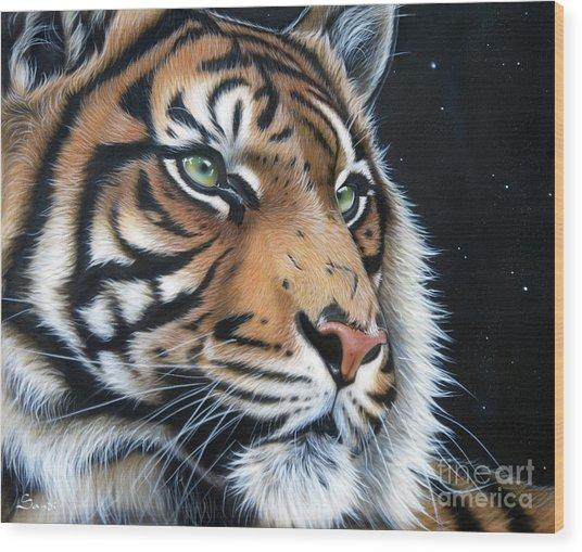 Sumatran  Wood Print