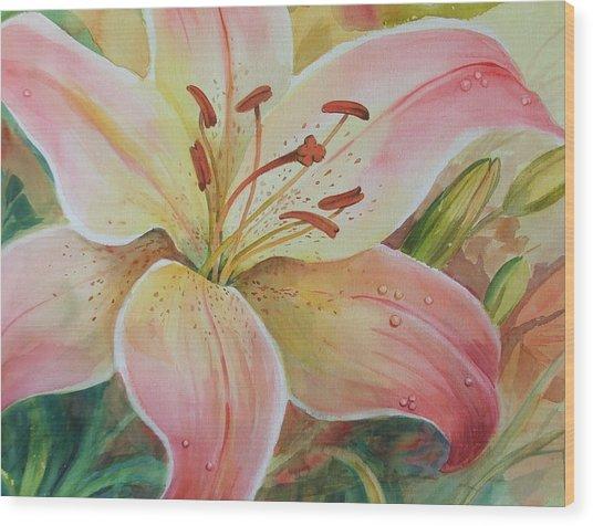Summer Beauty Wood Print by Dianna Willman