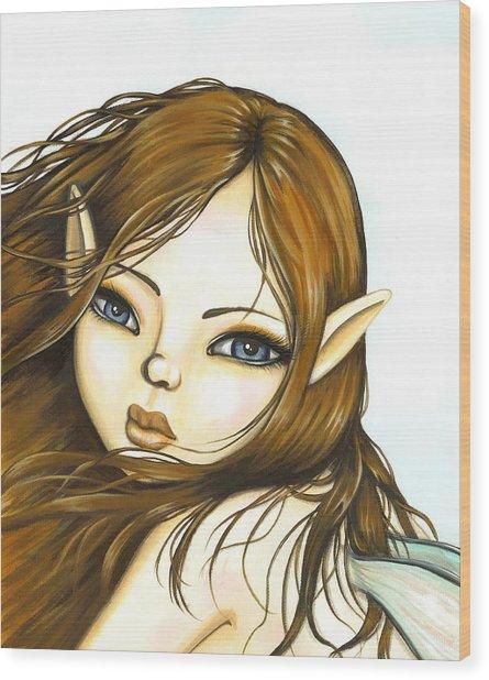Summer Breeze Wood Print by Elaina  Wagner