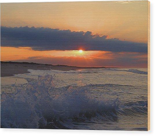 Summer Dawn I I Wood Print