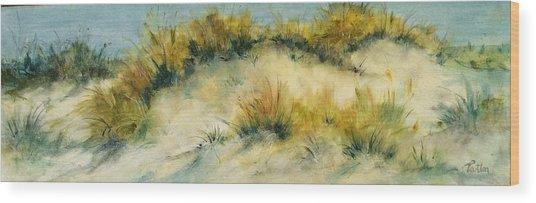 Summer Dunes Wood Print