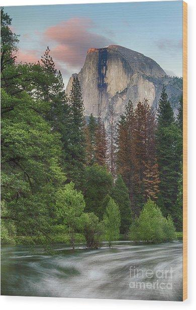 Summer Half Dome  Wood Print