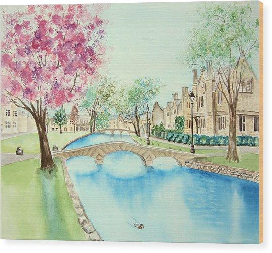 Summer In Bourton Wood Print