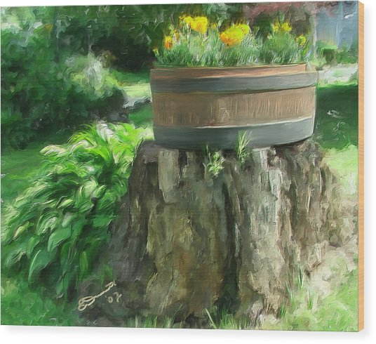 Summer In The Monadnocks Wood Print by Eddie Durrett