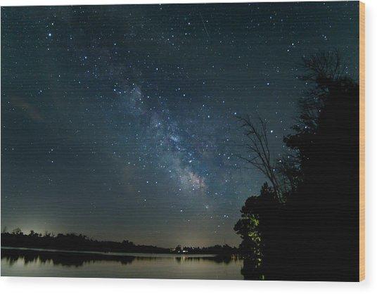 Summer Nights In Northern Michigan Wood Print