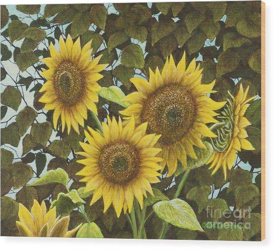 Summer Quintet Wood Print