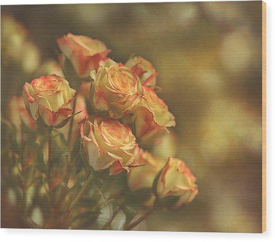 Summer Roses #2 Wood Print