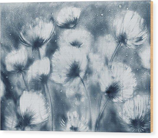 Summer Snow Wood Print