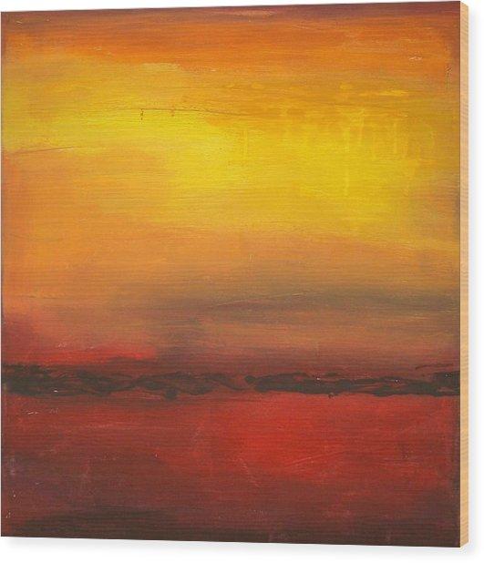 Summer Sun Wood Print by Ora Birenbaum