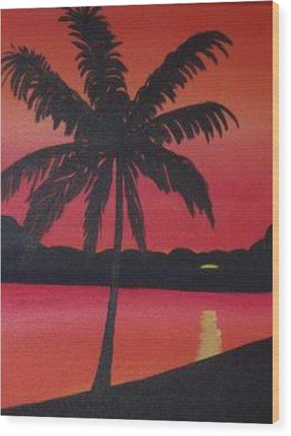 Summer Sun Wood Print