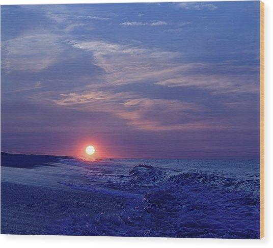 Summer Sunrise I I Wood Print