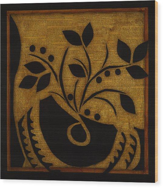 Summer's Bounty Wood Print