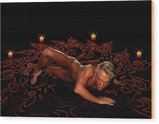 Wood Print featuring the photograph Summoning An Incubus by Michael Taggart