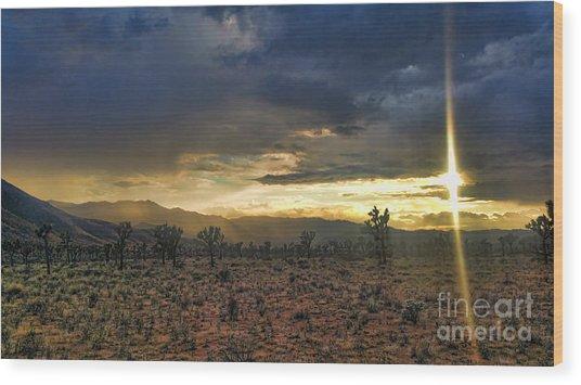 Sun Blade Wood Print