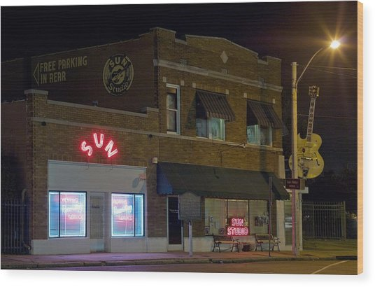 Sun Records Studio The Birthplace Wood Print
