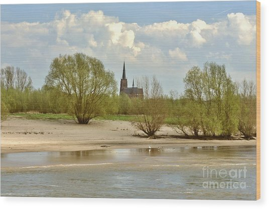 Sunday On The Rhine Wood Print
