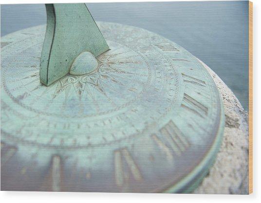 Sundial IIi Wood Print