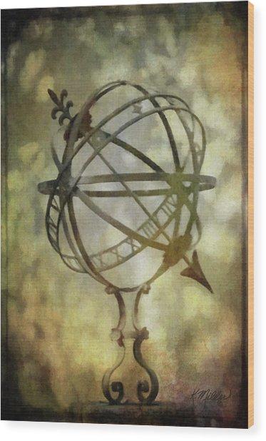 Sundial Wood Print
