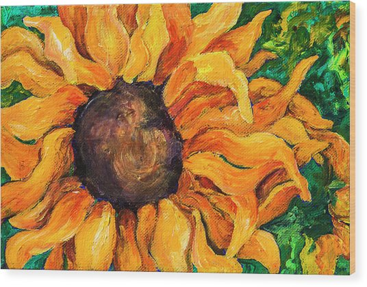 Sunflower #5 Wood Print