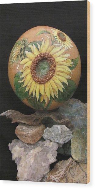 Sunflowers Gn41 Wood Print